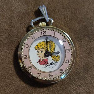 1963 Barbie Mattel Watch Pendant Swiss Made